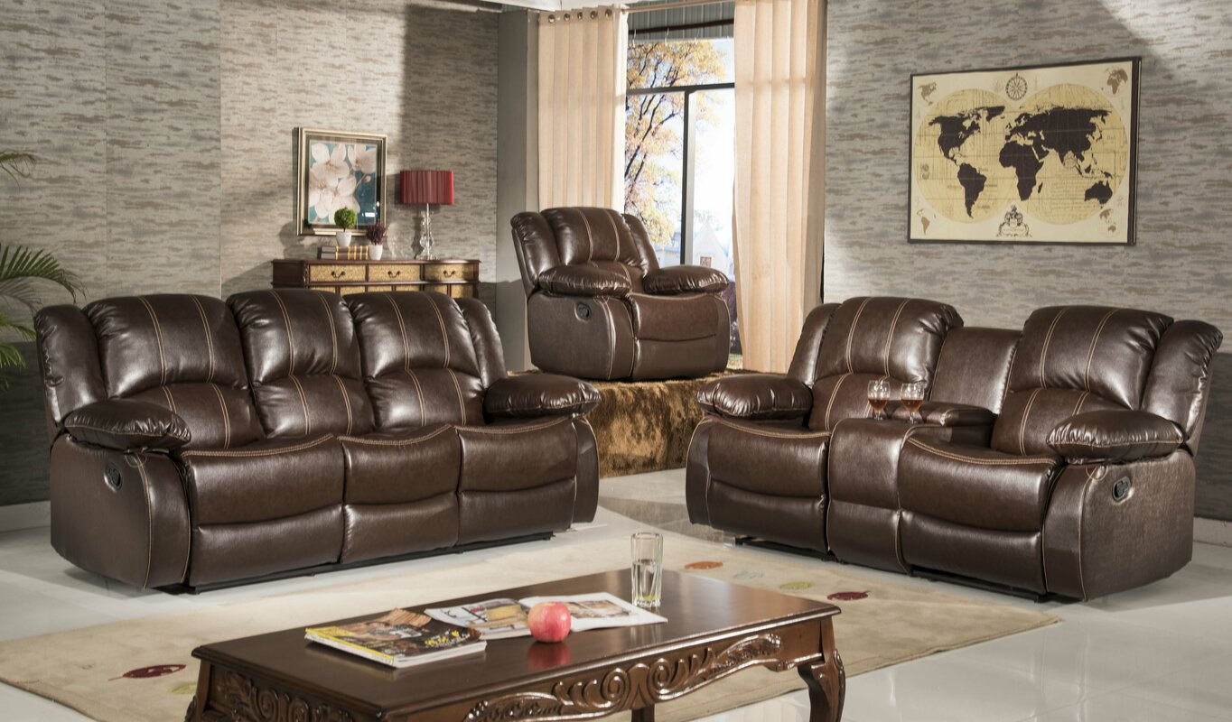 Okelley Reclining 2 Piece Living Room Set