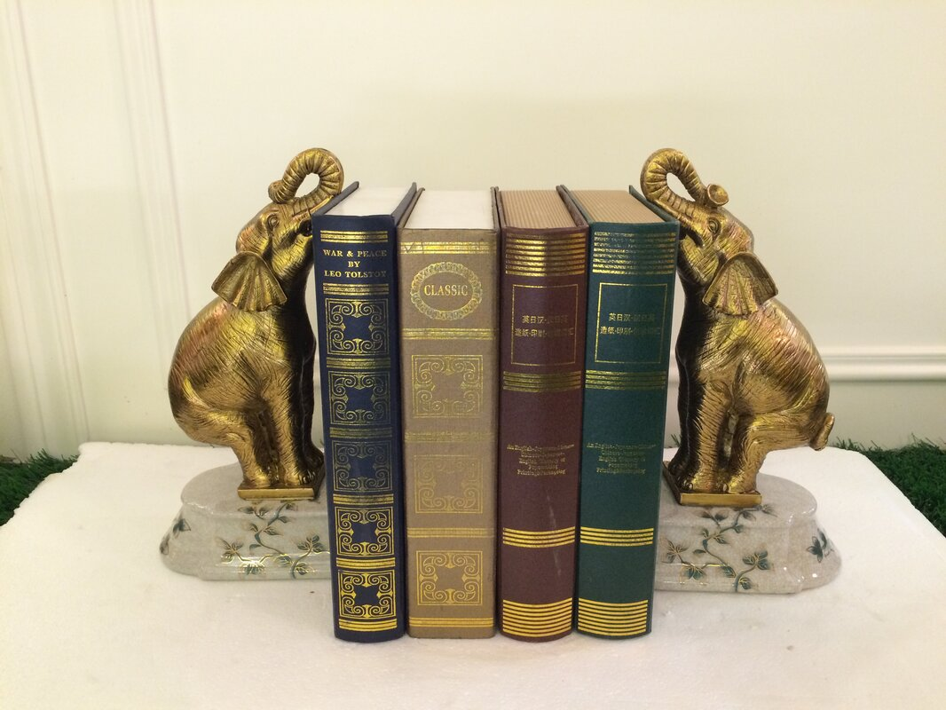 Luxurious  Bookends (Set of 2)