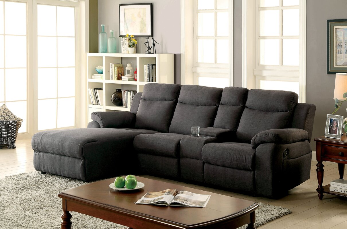 Brambach Right Hand Facing Reclining Sectional