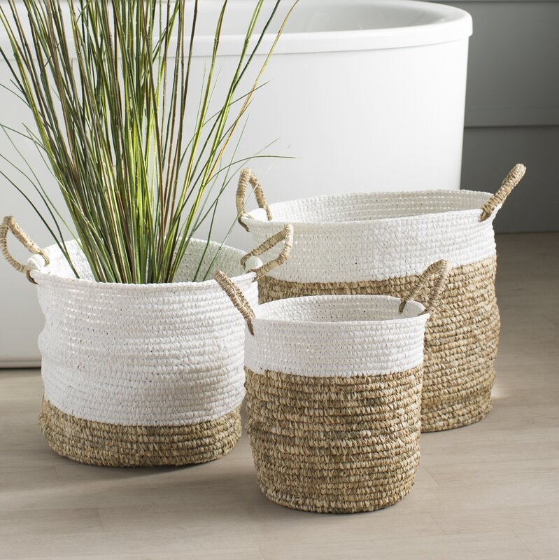 Reid Woven Baskets (Set of 3)