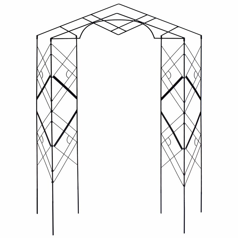 Athena Iron Folding Trellis