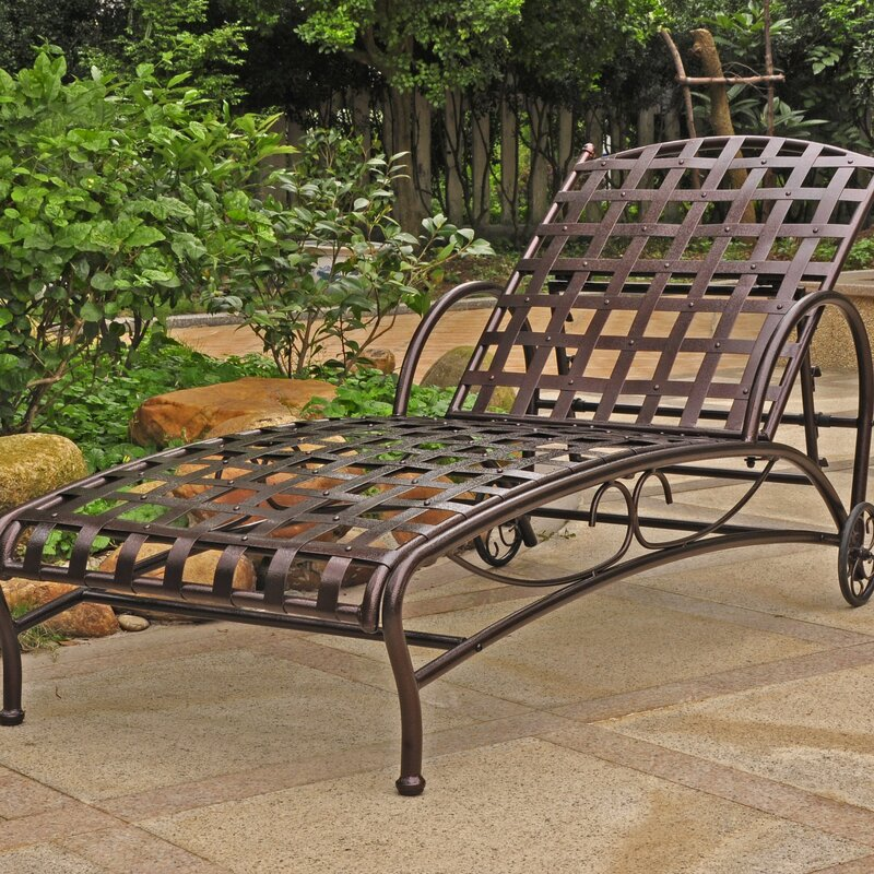 Schilling Reclining Chaise Lounge