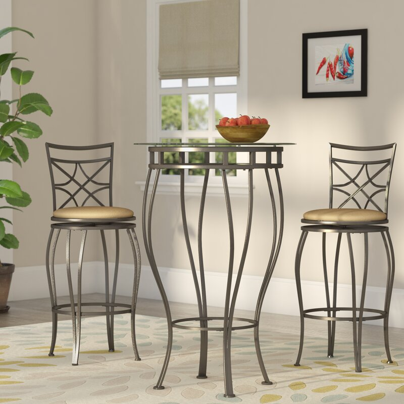 Northridge 3 Piece Pub Table Set