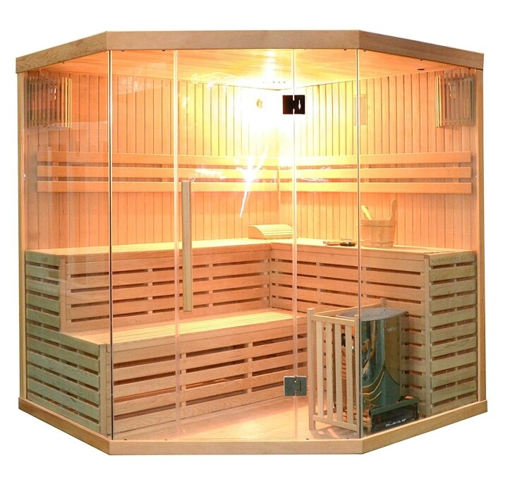 6 Person Traditional Steam Sauna