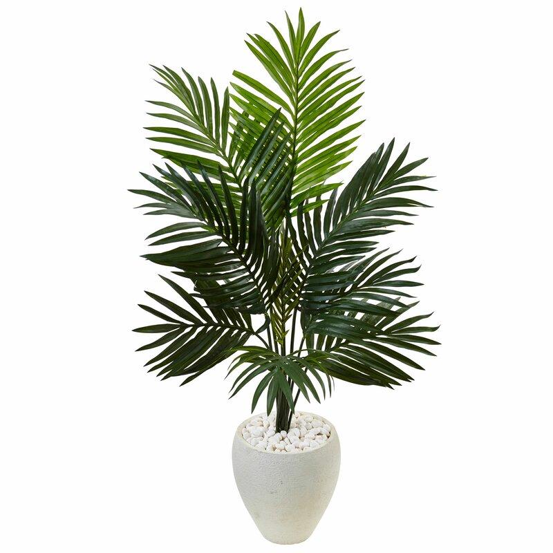 Artificial Kentia Floor Palm Tree in Planter