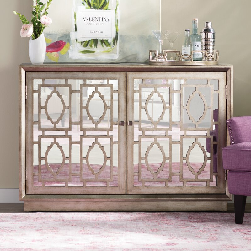 Talley Credenza 2 Door Accent Cabinet