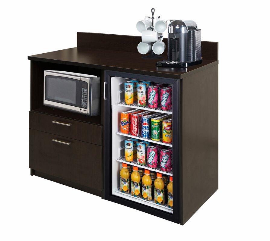 "Coffee Kitchen 36"" H x 48"" W Base Cabinet"