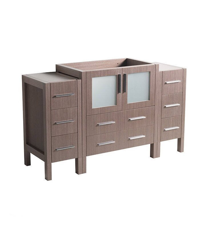 "Torino 54"" Single Bathroom Vanity Base Only"