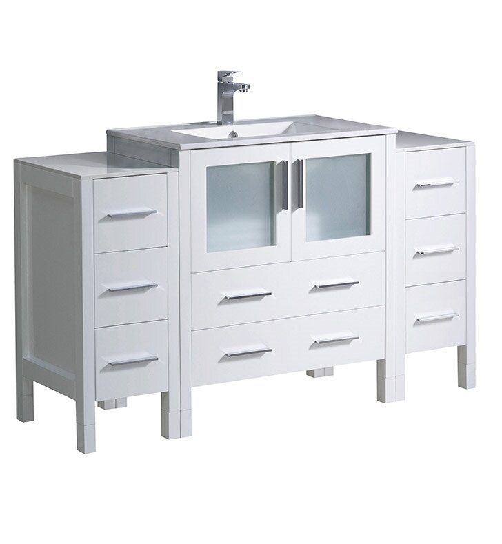"Torino 54"" Single Bathroom Vanity Set"
