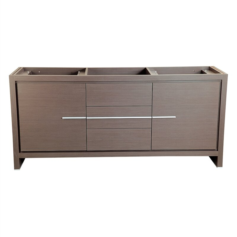 "Allier 72"" Double Bathroom Vanity Base Only"