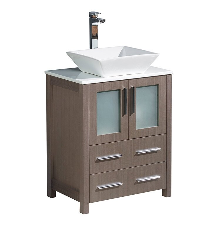 "Torino 24"" Single Bathroom Vanity Set"