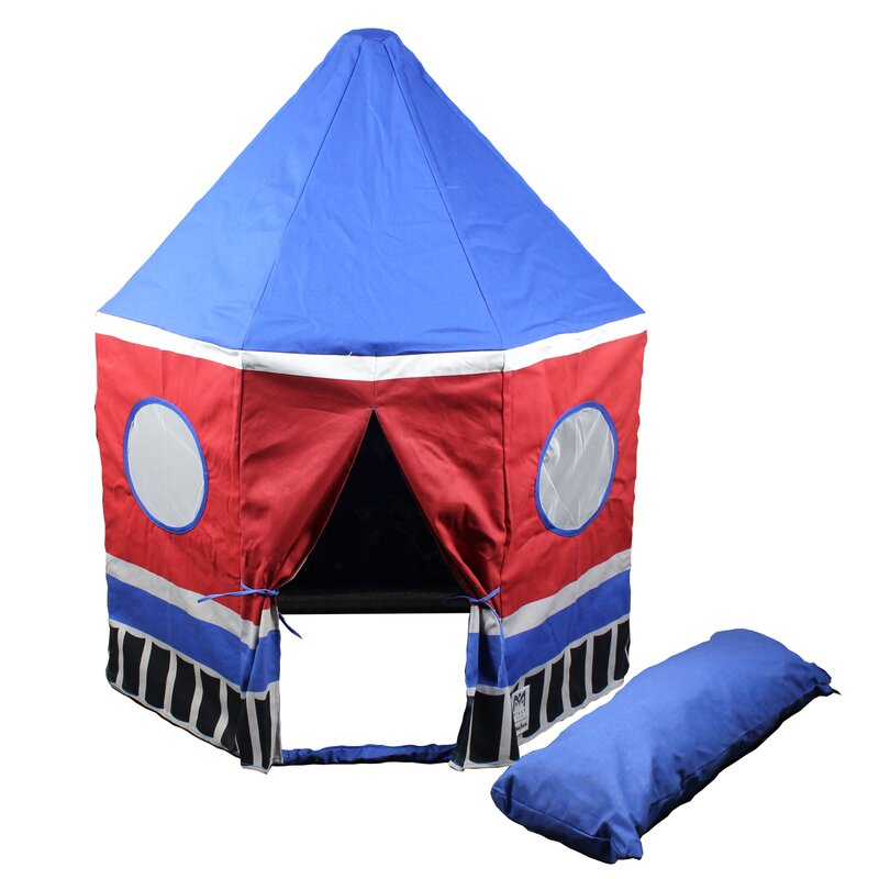 Rocket Ship Pavilion  Pop-Up Play Tent with Carrying Bag