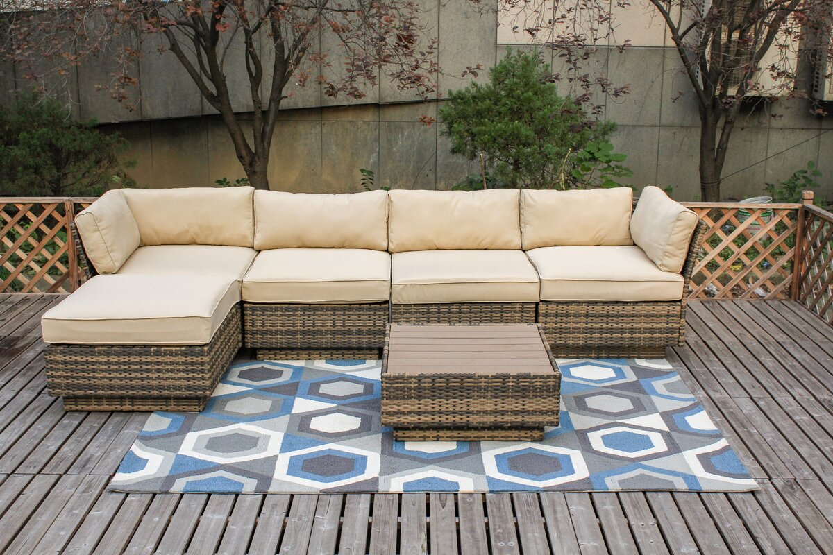 Alani 6 Piece Sectional Set with Cushions