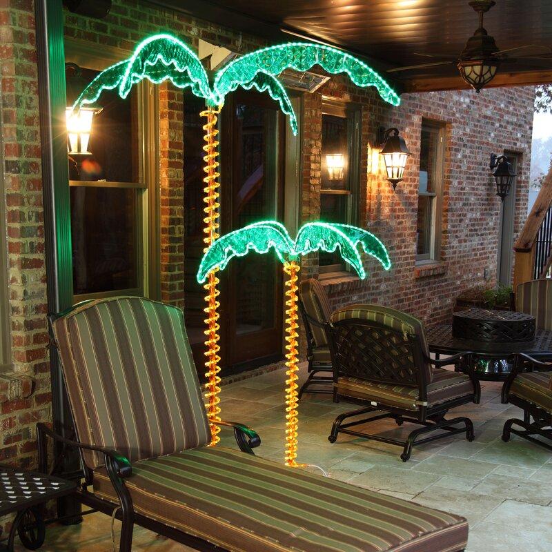 LED Palm Tree Rope Light