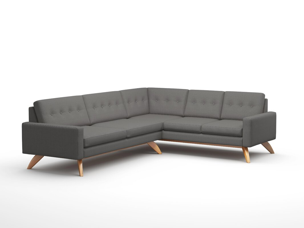 "Luna 91"" x 114"" Corner Sectional"