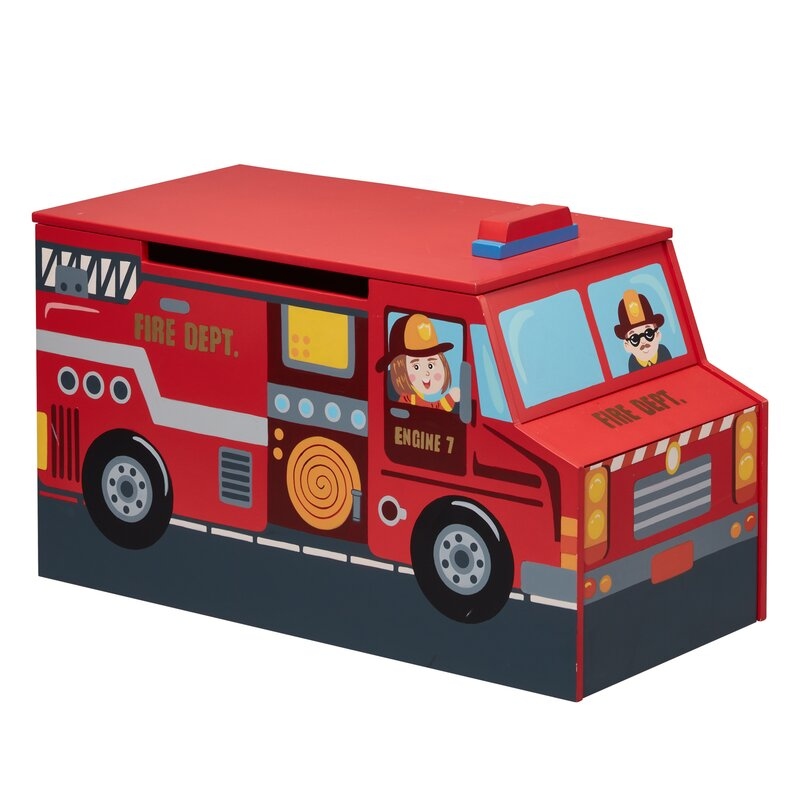 Little Fire Fighters Toy Box