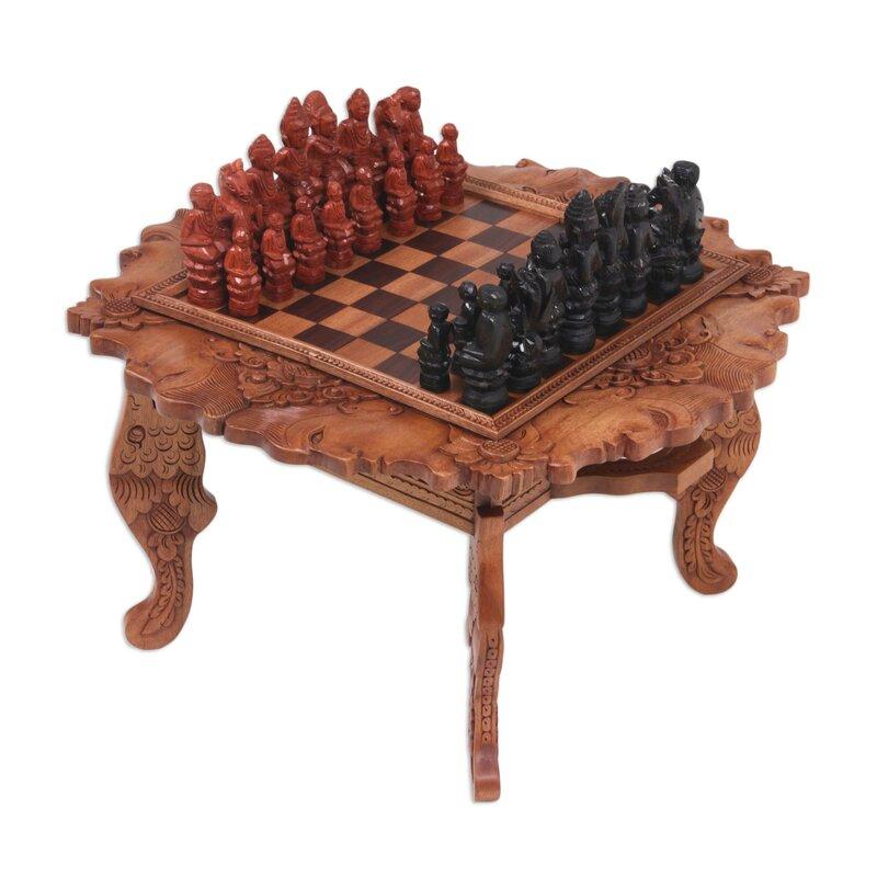 "19.8"" Buddha Chess Table"