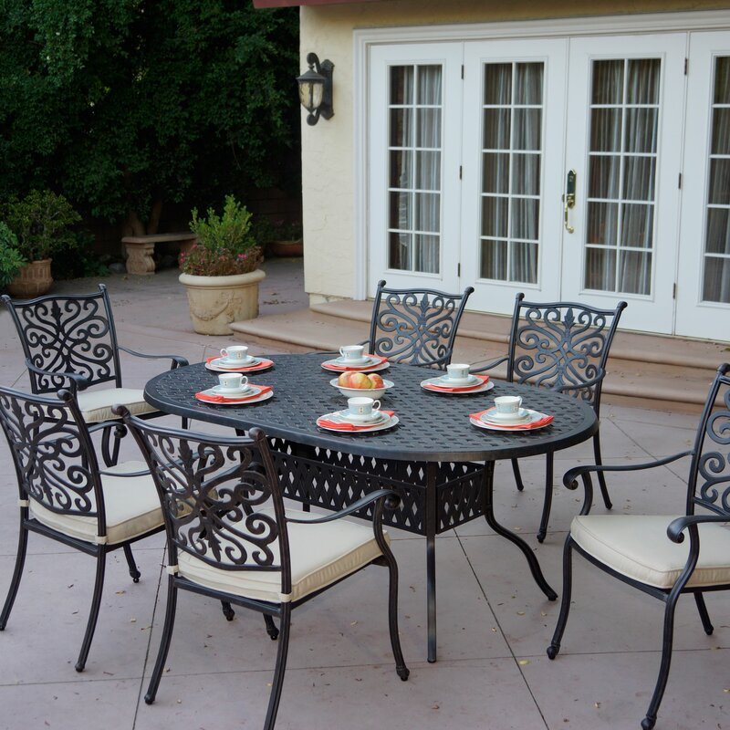 Archway 6 Piece Dining Set with Cushions