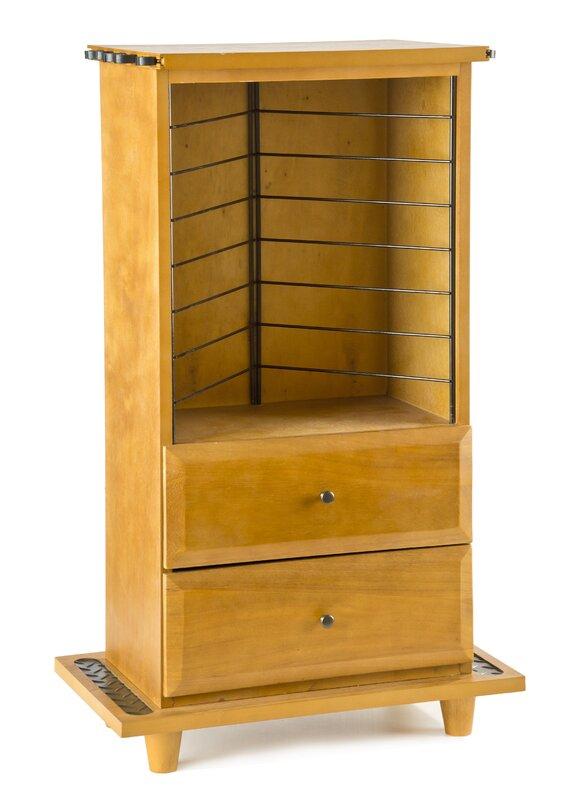 """33.86"""" H x 20.47"""" W x 11.81"""" D Storage Cabinet"""