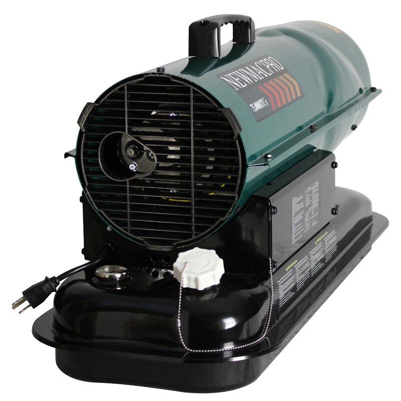 160 Watt 75,000 Kerosene Forced Air Utility Heater