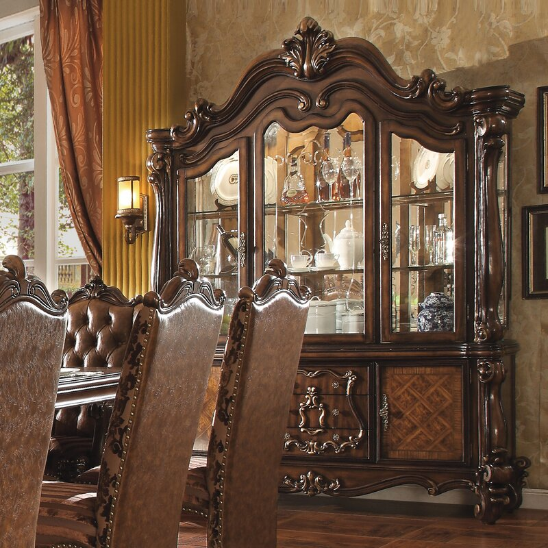 Welton Lighted China Cabinet