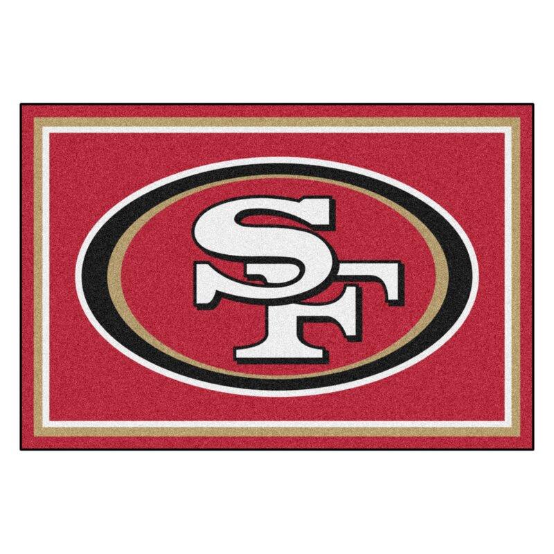 NFL - San Francisco 49ers 4x6 Rug