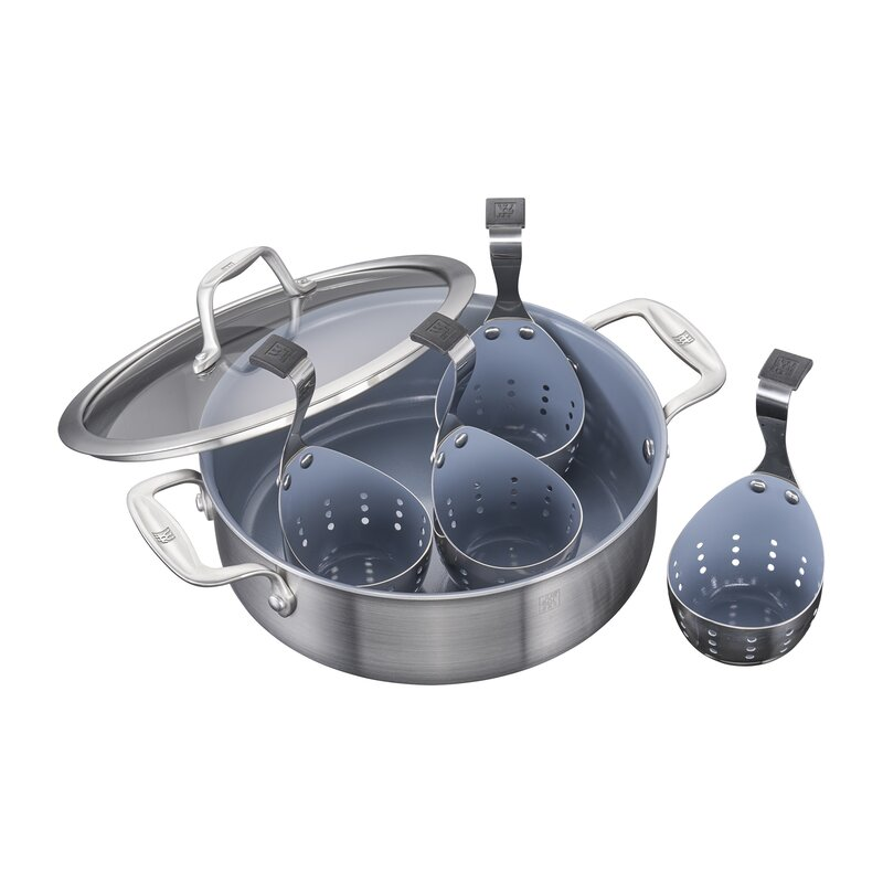 Spirit 4 Cup Non-Stick Egg Poacher