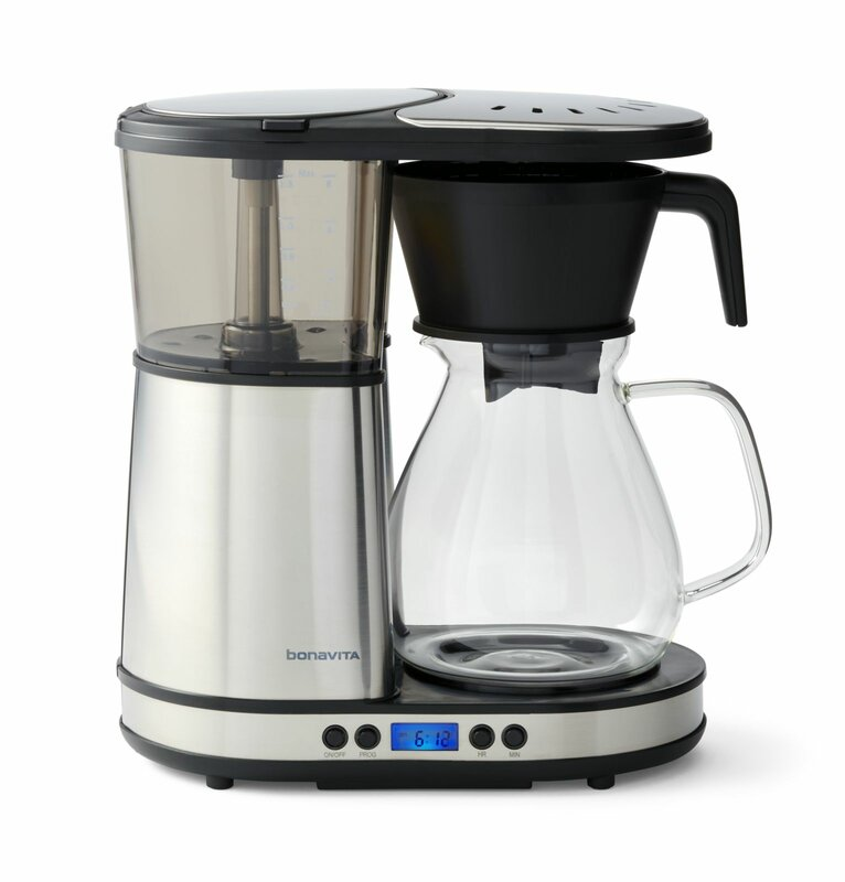 8-Cup Programmable Coffee Maker