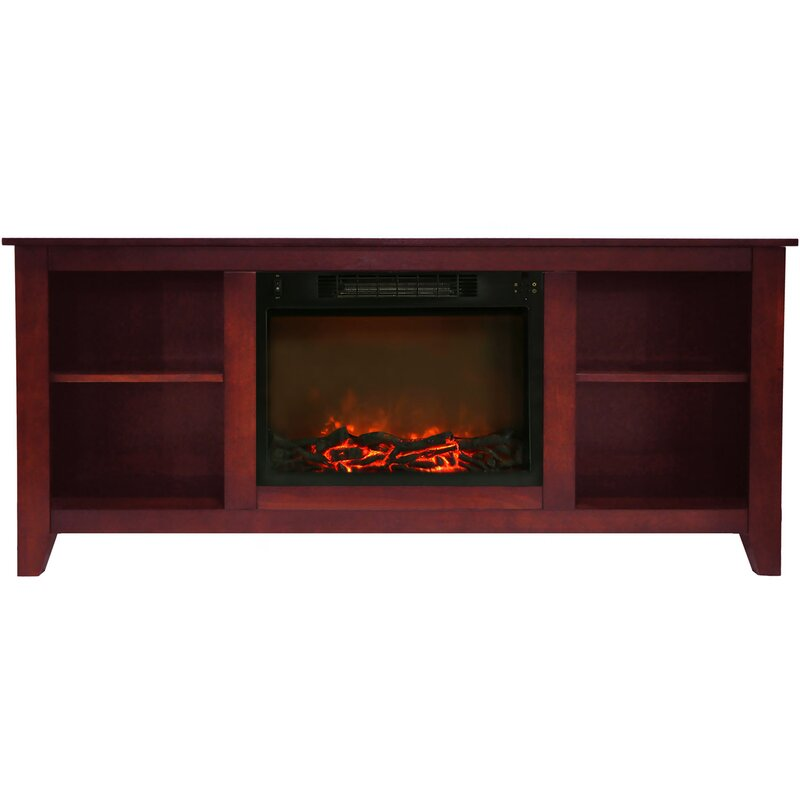 """Brook Hollow TV Stand for TVs up to 60"""" with Fireplace"""