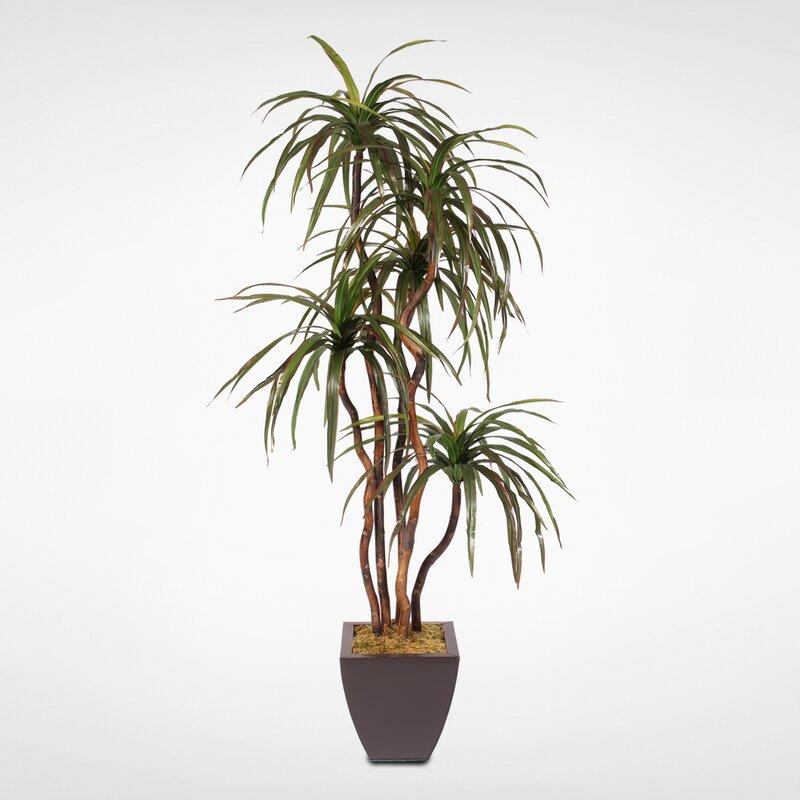 Silk Floor Yucca Tree in Planter