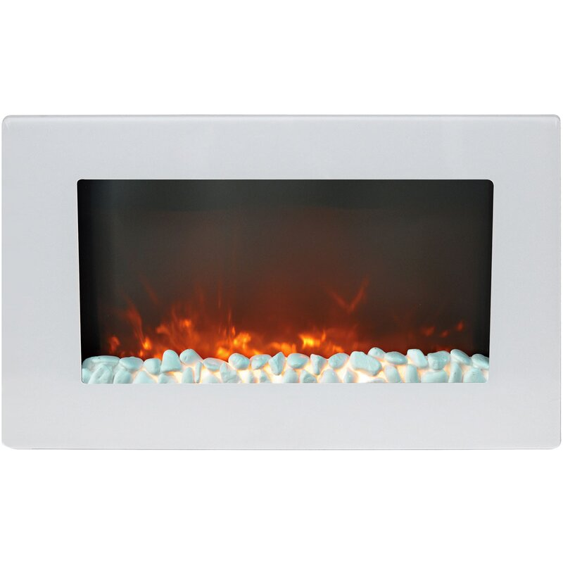 Bevers Wall Mounted Electric Fireplace