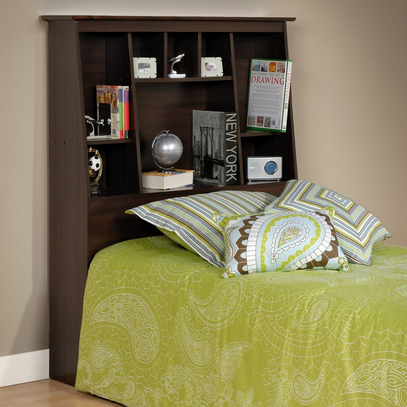 Storage Twin Bookcase Headboard