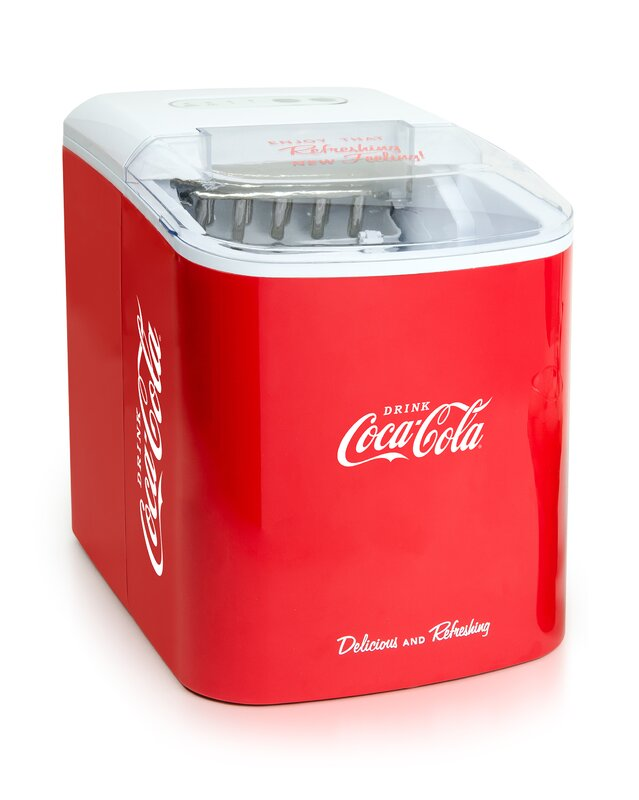 Coca-Cola 24 lb. Portable Ice Maker