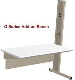 Grant Series Modular Laboratory Add-on Workbench