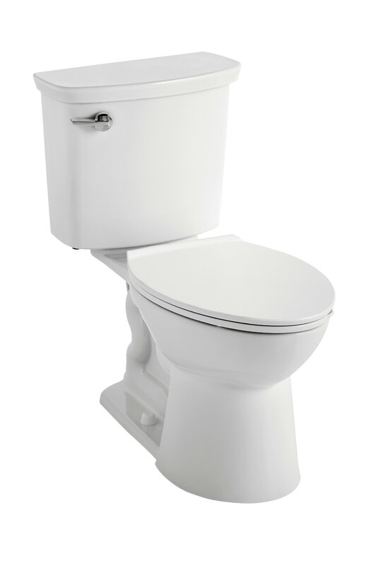 Universal Dual Flush Elongated Two-Piece Toilet (Seat Not Included)