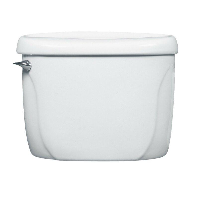 Cadet Flushometer 1.6 GPF Toilet Tank