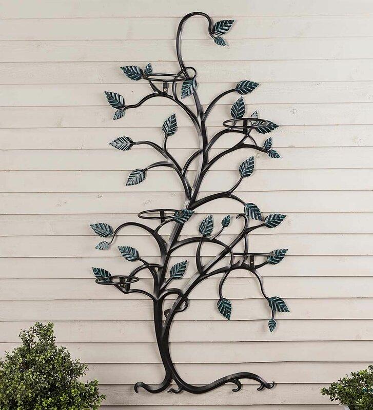 Tree Metal Trellis