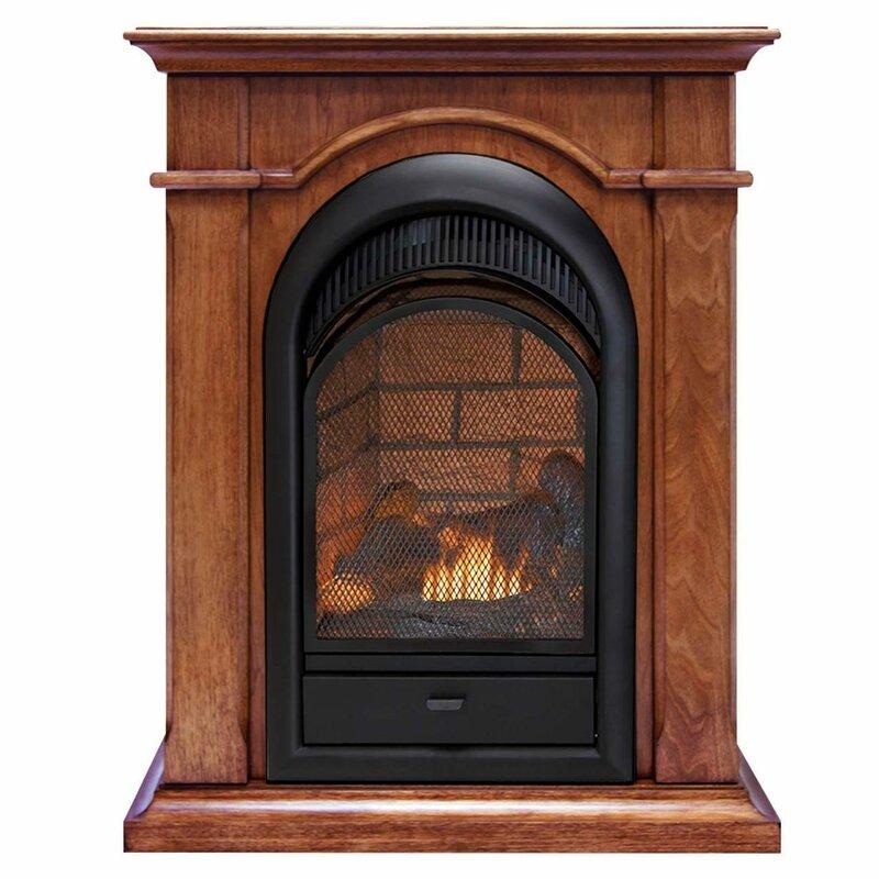 Karen Propane/Natural Gas Fireplace