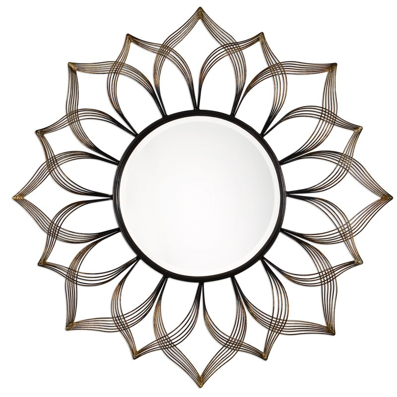 Thrapst Sunflower Accent Mirror