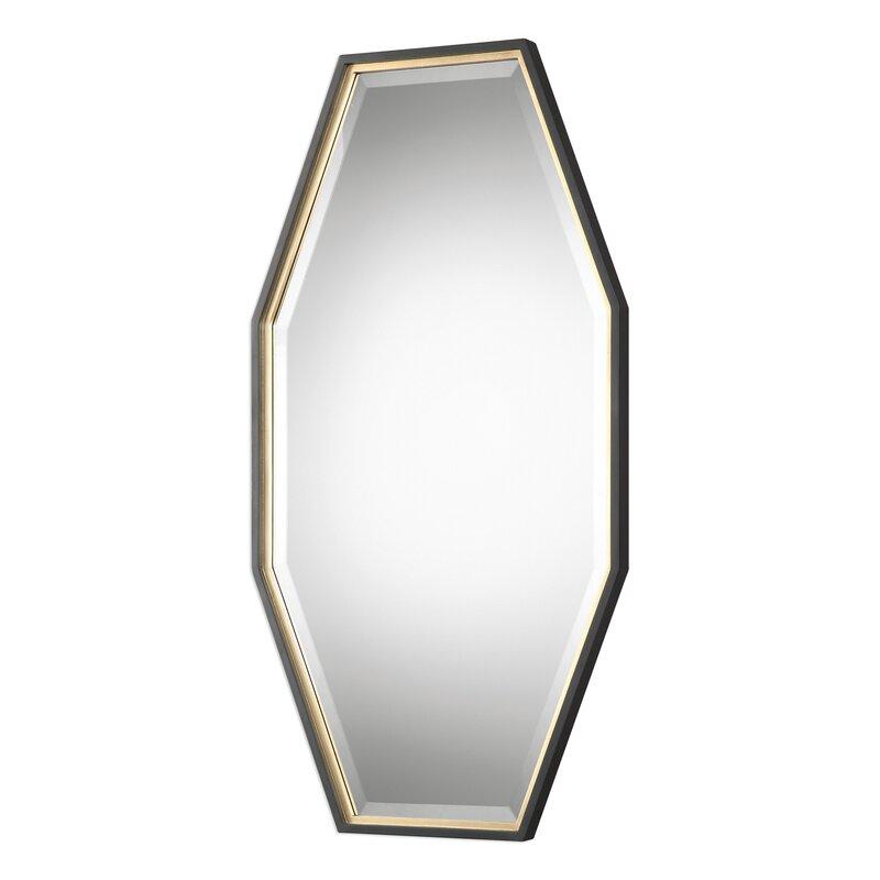 Contemporary Octagon Accent Mirror