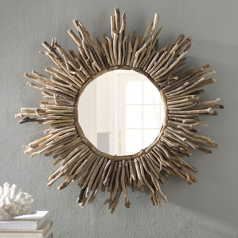 Sunburst Traditional Accent Mirror