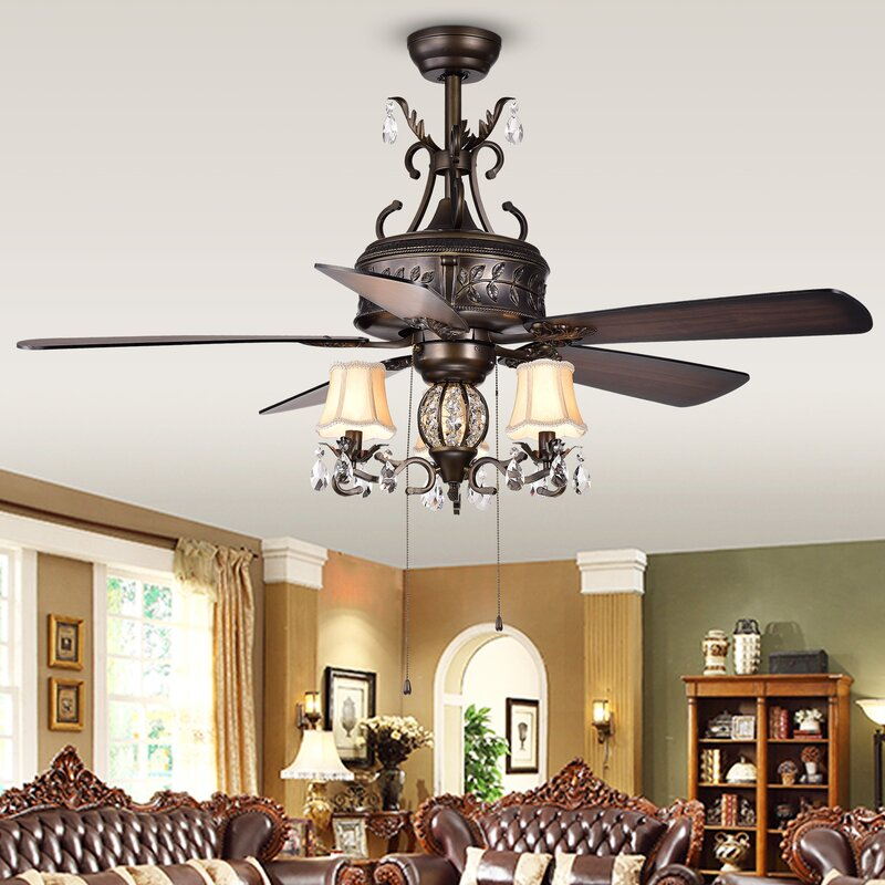 "52"" Sayre 5 Blade Ceiling Fan"