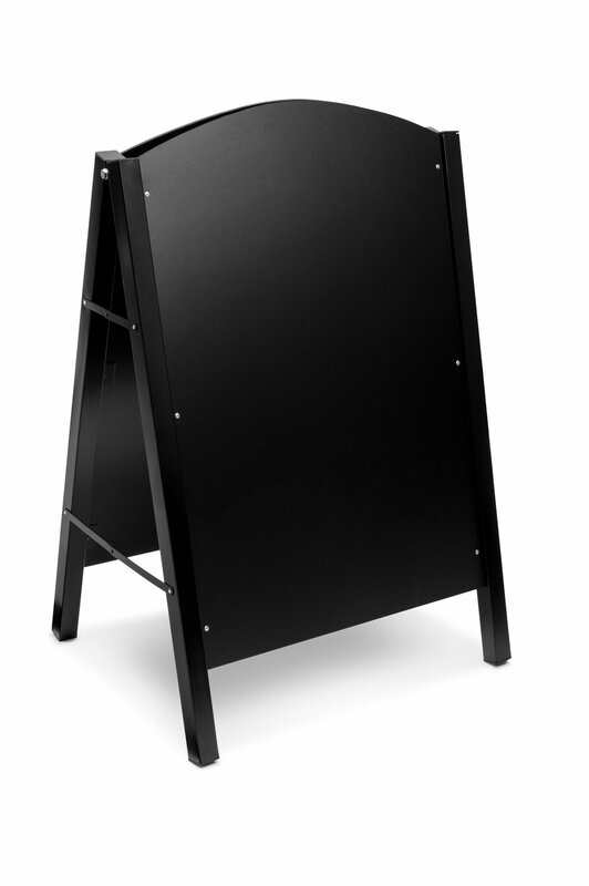 Double-Sided Free Standing Chalkboard