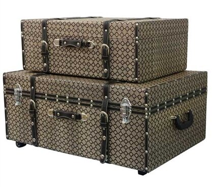 Millett 2 Piece Texture Trunk Set