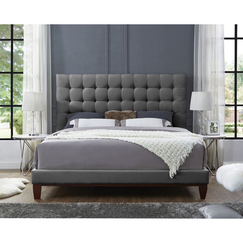 Randy Upholstered Platform Bed