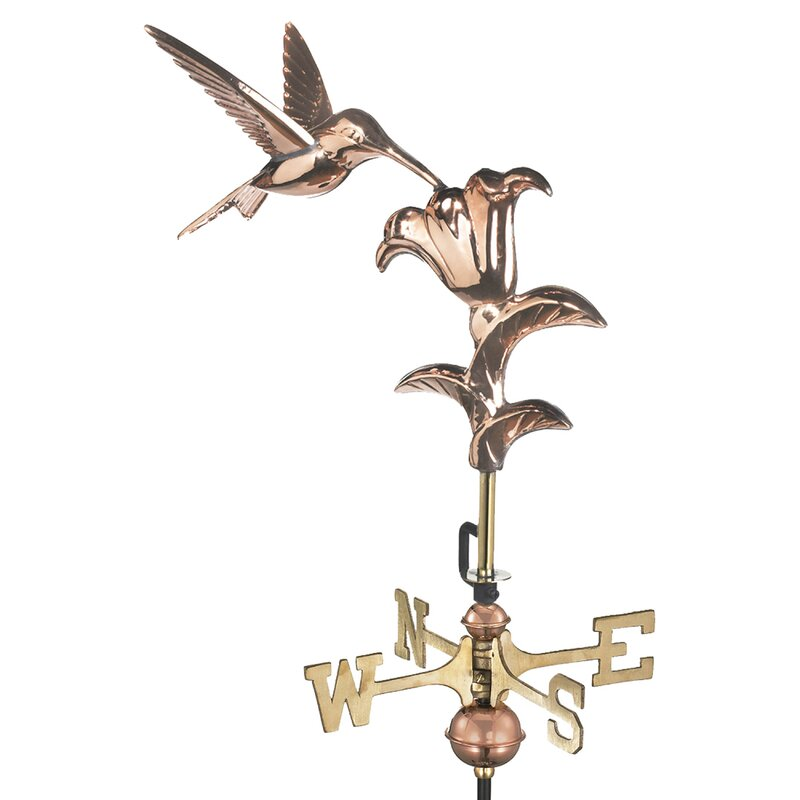 Garden Hummingbird Weathervane