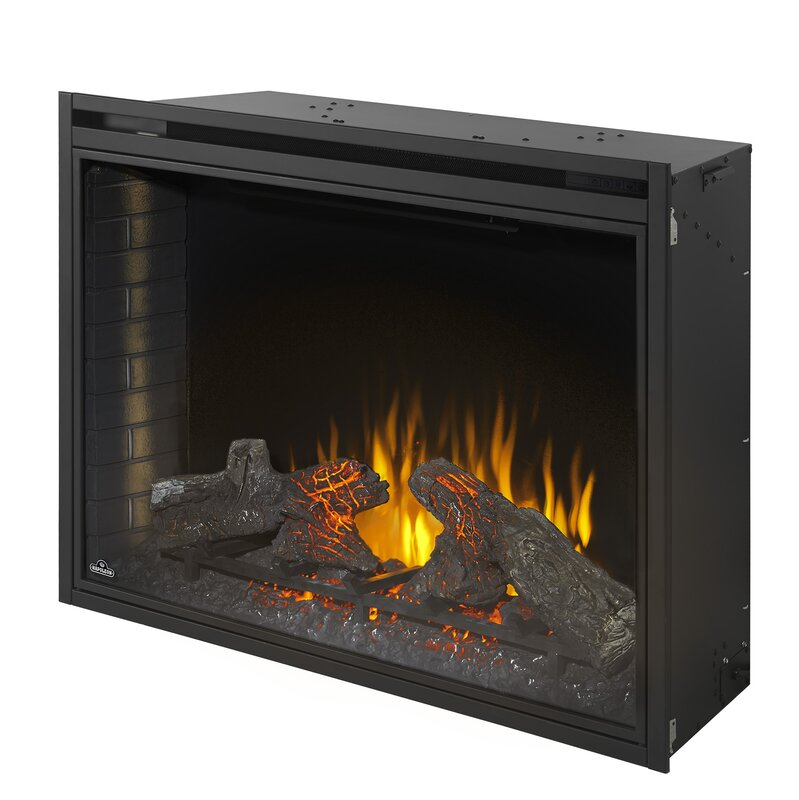 Ascent Wall Mounted Electric Fireplace Insert