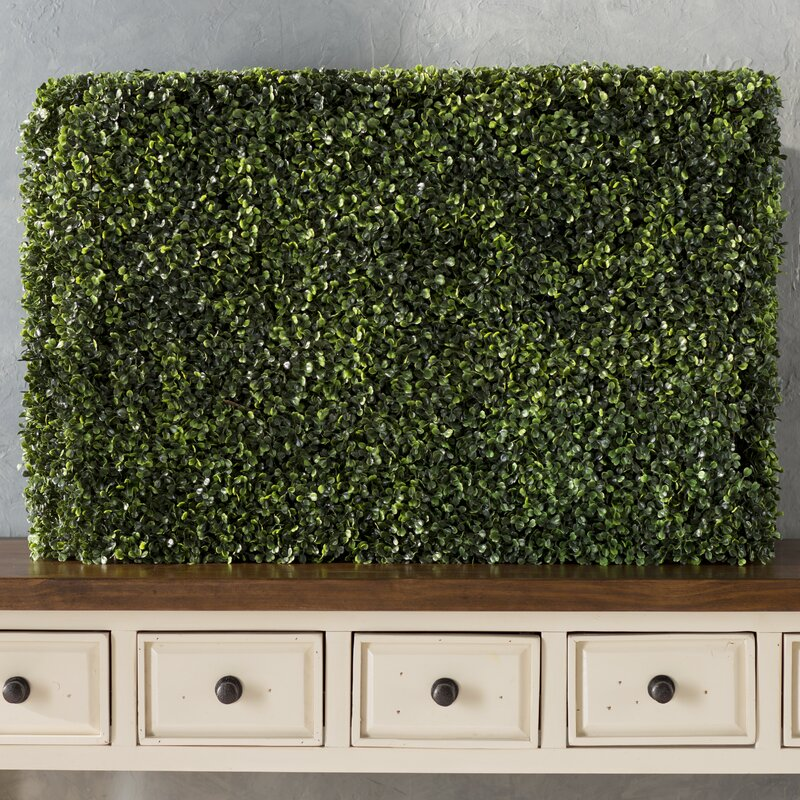 UV Resistant Artificial Boxwood Hedge