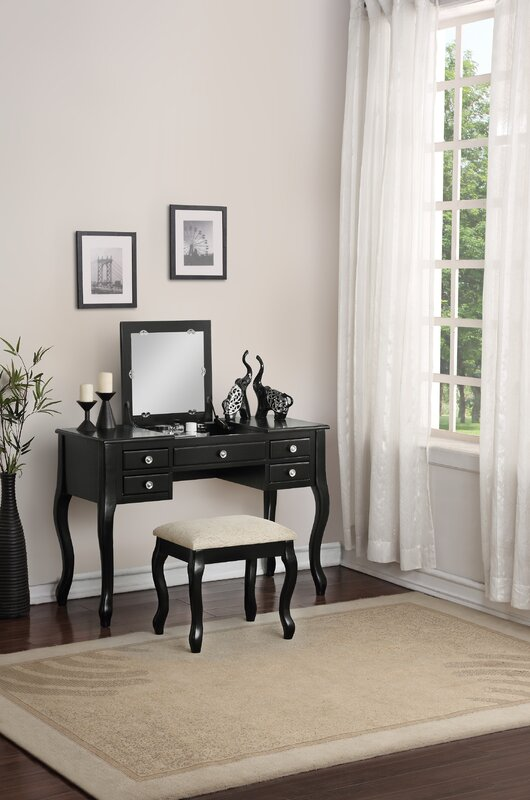 Bainsby Vanity Set with Mirror