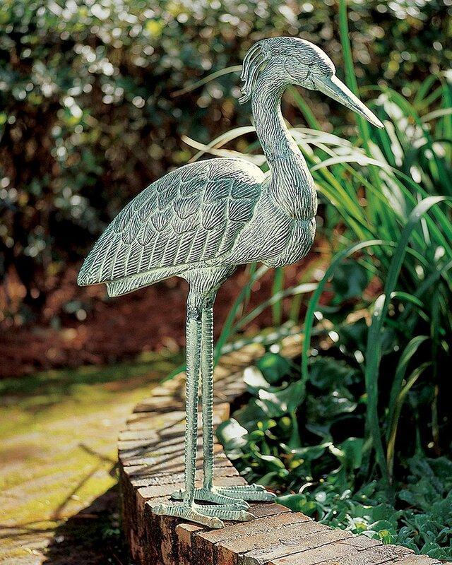 Heron Statue
